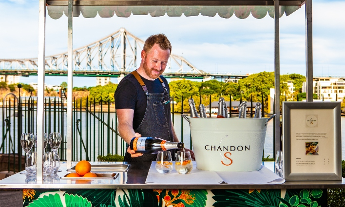 S is for Stylish sips, snacks and Sundays at Customs House, with Chandon!