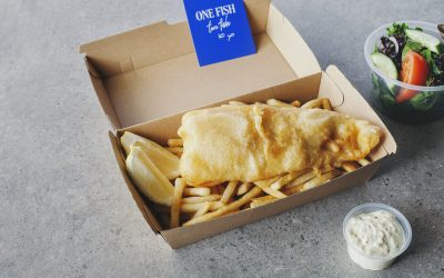 See sparks fly and chips fry on Riverfire night with One Fish Two Fish!