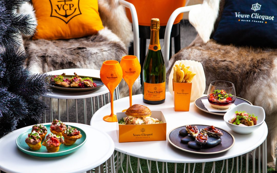 Cosy up with Veuve Clicquot at Customs House this winter