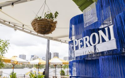 Peroni is bringing the atmosphere of the Australian Open to Riverbar & Kitchen this summer