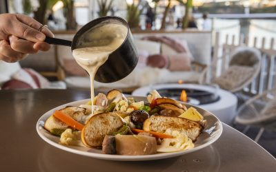 Warm yourself up with Riverbar & Kitchen's Winter Lodge!